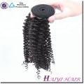 En gros 100% Vierge Brésilienne Cheveux Bundles Kinky Bouclés Cheveux Humains Couleur Naturelle Cheveux Humains