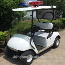 2 carros de golfe elétricos da mini polícia do seater para a comunidade