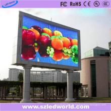 Panneau extérieur polychrome d'écran d'affichage à LED d'intense luminosité