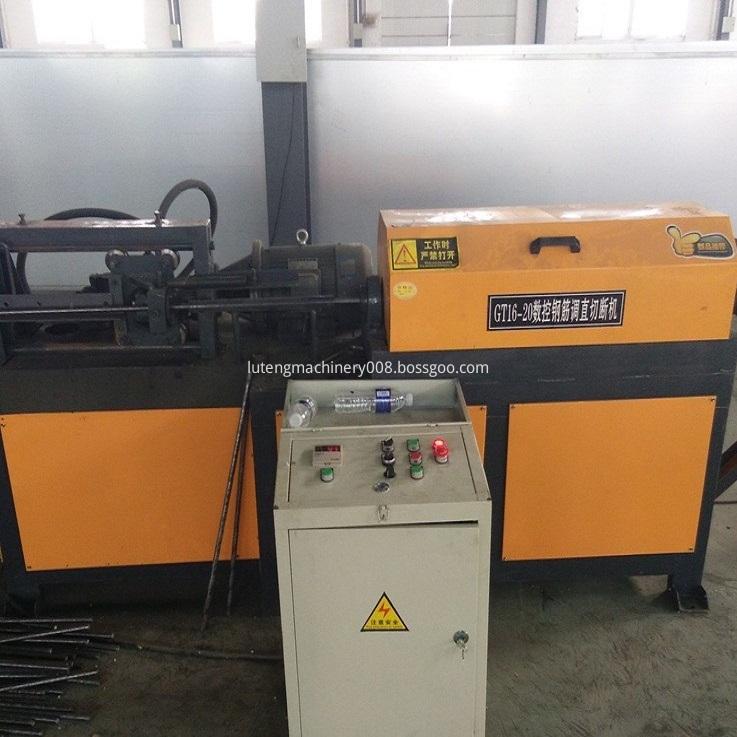 Steel Bar Straightening Cutting Machines