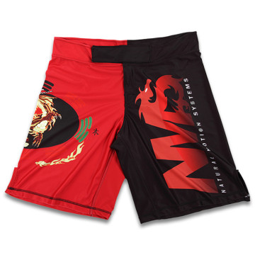 High-End lycra spandex tom mma fight shorts
