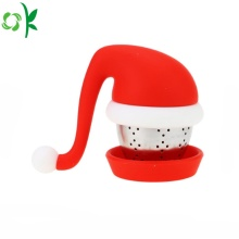 Food Grade Christmas Silicone Tea Infuser for Travel