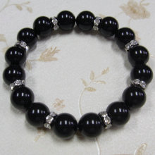 Black Pearl Beads Bracelet