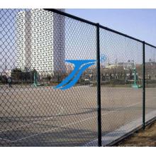 Rede de arame quente do elo de corrente do cerco dos esportes da escola da venda / PVC