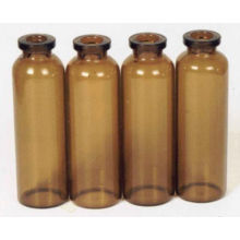 Clear / Amber Glass Oil Bottles With Dropper For Pharmaceutical, Chemical Ep, Jp