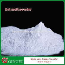 QingYi mejor precio y calidad polvo de pegamento de fusión en caliente