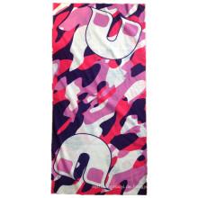 Kundenspezifischer Polyester-gestreifter im Freien Soports magischer Schal