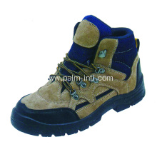 Suede Leather/Anti-Static Safety Shoes