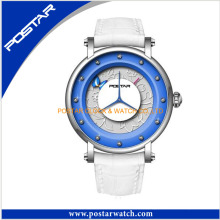 Elegant Stainless Steel Quartz Wristwatch Sport fashion Lady Watch