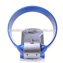 Hot vente Ventilateur sans lame - 12 pouces - Avec lumière LED et à distance (bleu)