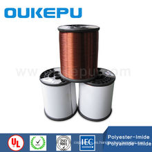 dos capas motor H180 de clase rebobinar conductor de alambre de cobre con aislamiento