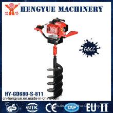 Heißer Verkauf Gardon Tools von hochwertigem Benzin-Bodenbohrer