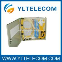 SC fibra óptica Patch Cord, SC fibra óptica montado en la pared marco de distribución