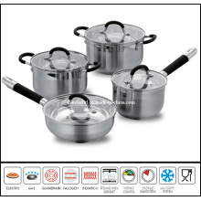 8 PCS Stainless Steel Cooker Set