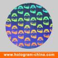 Benutzerdefinierte Silber Laser Anti-Counterfeiting Hologramm Label