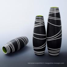 Vase en céramique classique pour décoration maison (B136)