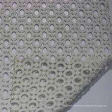 Tecido de renda química com desenho de buraco tecido bordado