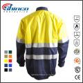 Vêtements de sécurité en coton anti-UV et FR