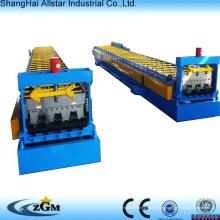 Alta velocidad de acero para techos y piso azulejo Decker frío rodillo que forma la máquina
