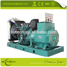 280KW / 350Kva gerador elétrico alimentado por motor VOLVO TAD1342GE