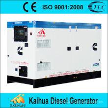 O tipo silencioso de refrigeração água de 200KW 250Kva 1500RPM 50HZ Weichai styer grupos de gerador diesel