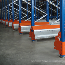 Auto Sat compatible shuttle racking system