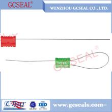 Metal de alta segurança de 1,0 mm puxar selo de cabo apertado