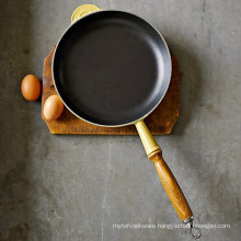 Enameled Cast Iron Flat Fry Pan China Product