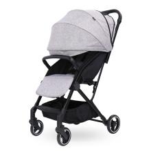 Carrinho de bebê compacto leve e dobrável com 4 rodas
