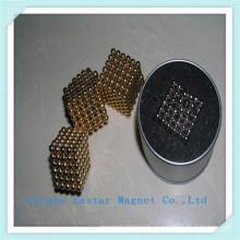 Золото обшивки редкоземельных шарик Jewelly магнит