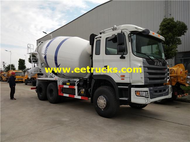 JAC 10 Wheel 10000L Cement Mixing Trucks
