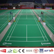Vinyl mobile badminton court sports flooring mat