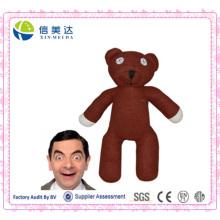 Senhor Bean Teddy Bea Stuffed Brinquedo Plush Brown