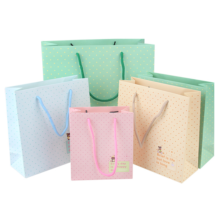 Different Sizes Plain Kraft Paper Bags For Promotion