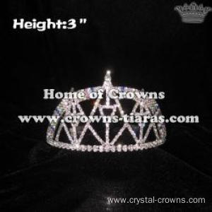 Rainbow Tower Pageant Crowns