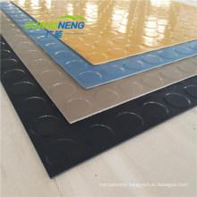 Anti Slip Customized Airport Coin Rubber Flooring Mat