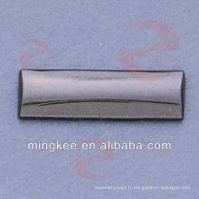Étiquette d'identité en métal pour accessoires de sac (N33-995A)