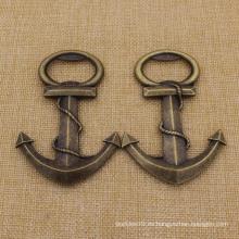 Abrigos de botella del ancla de bronce antiguo de los regalos de Weeding de la moda
