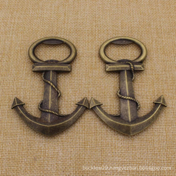Fashion Weeding Gifts Antique Bronze Anchor Bottle Opener