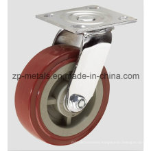 PU Swivel Caster Wheel for Heavy-Duty