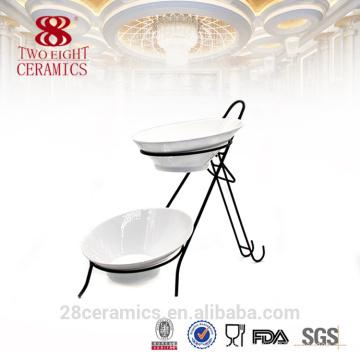 Venta al por mayor de cubiertos de restaurante, tazones de mezcla de porcelana chino conjunto