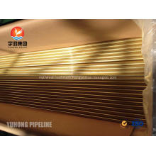 ASTM B111 C44300 Copper Alloy Seamless Tube