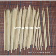 Parrilla natural de barbacoa Redonda Brochetas de bambú