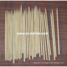Grelha de churrasco natural Redondo de bambu Skewers