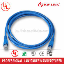 5ft 26AWG Stranded CCA UTP Cat6 Patch Cord Blue
