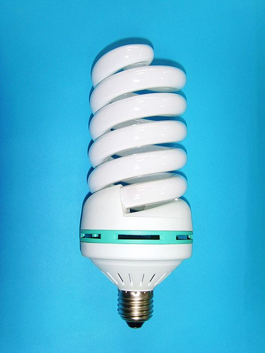 Big Full Spiral Energy Light Bulb