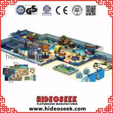 Ocean Theme Soft Indoor Playground Center para niños