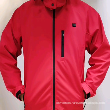 Man & Women Heated Clothing with Rechargeable Li Battery