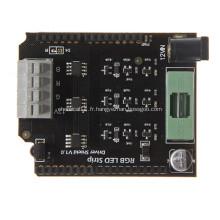 Assemblage de carte de circuit imprimé HDI multicouche avec masque de soudure noire