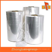Hot shrinkable film plastic pvc sheet transparent pvc film